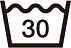 洗濯表示30