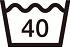 洗濯表示40