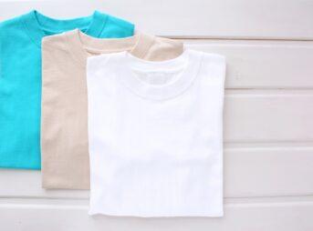 Tシャツの襟ヨレ